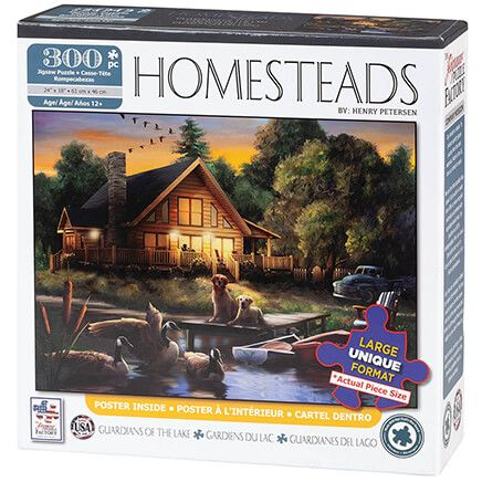 Homesteads Guardians of the Lake 300 Piece Puzzle-370341