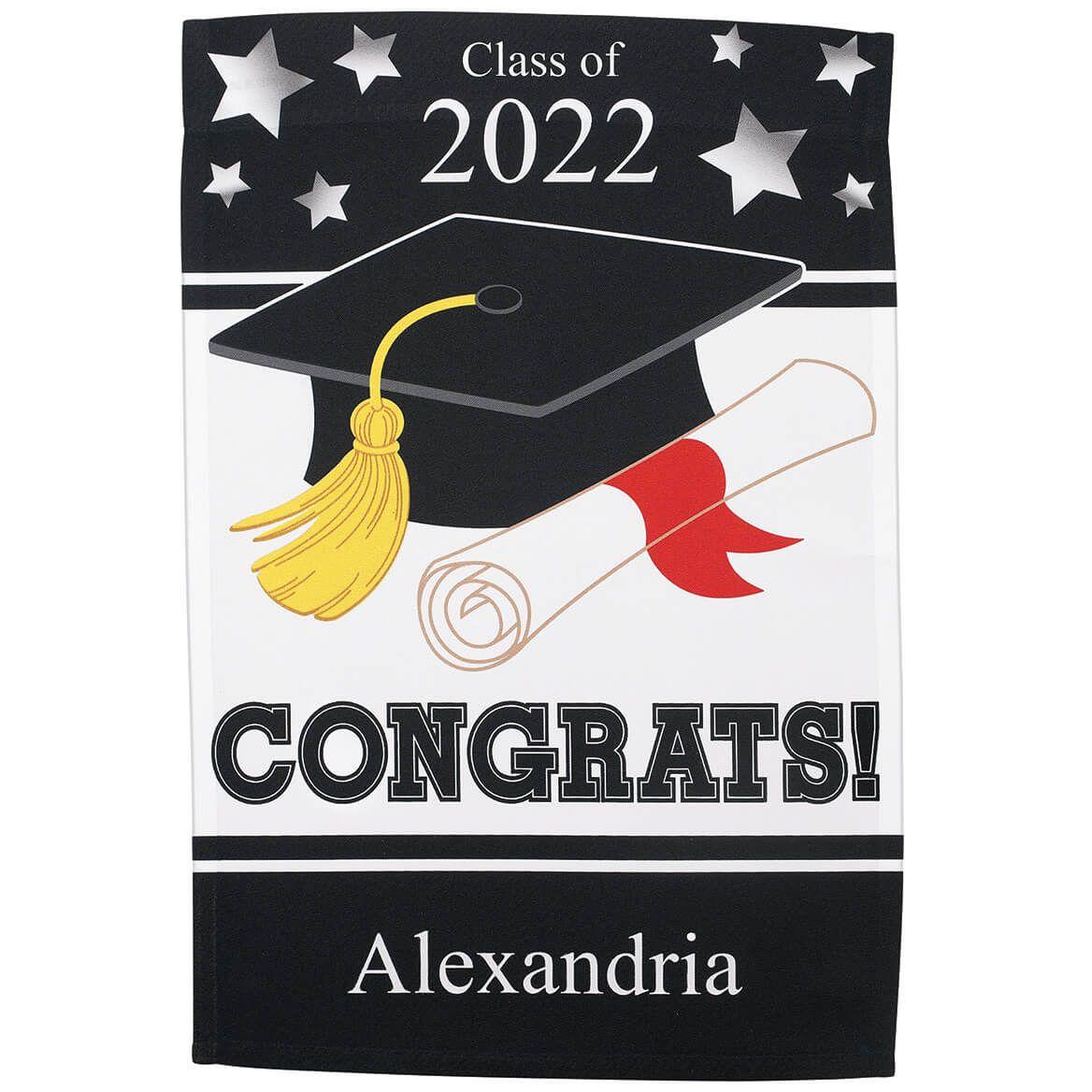 Personalized Graduation Garden Flag-370353