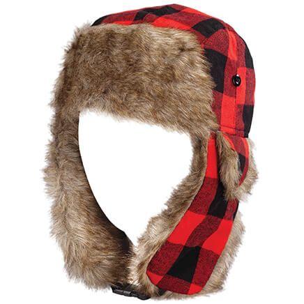 Buffalo Plaid Bomber Hat-370364
