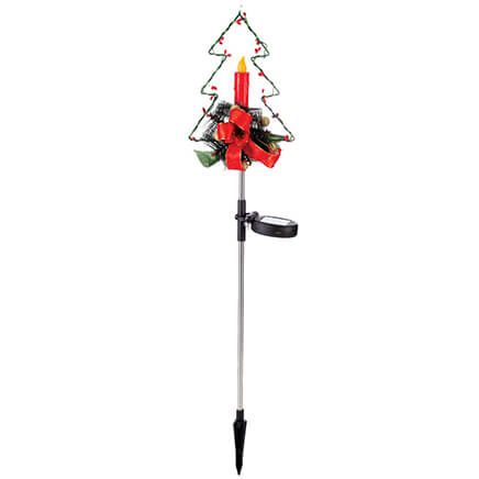 Christmas Tree Solar Stake by Fox River™ Creations-370412