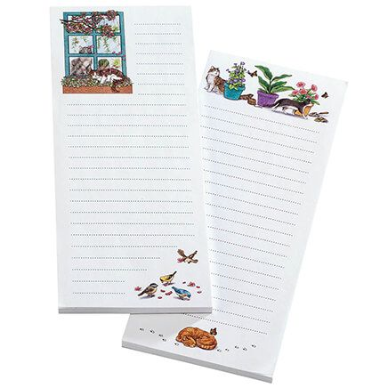 Set of 2 Cat Notepads-370463
