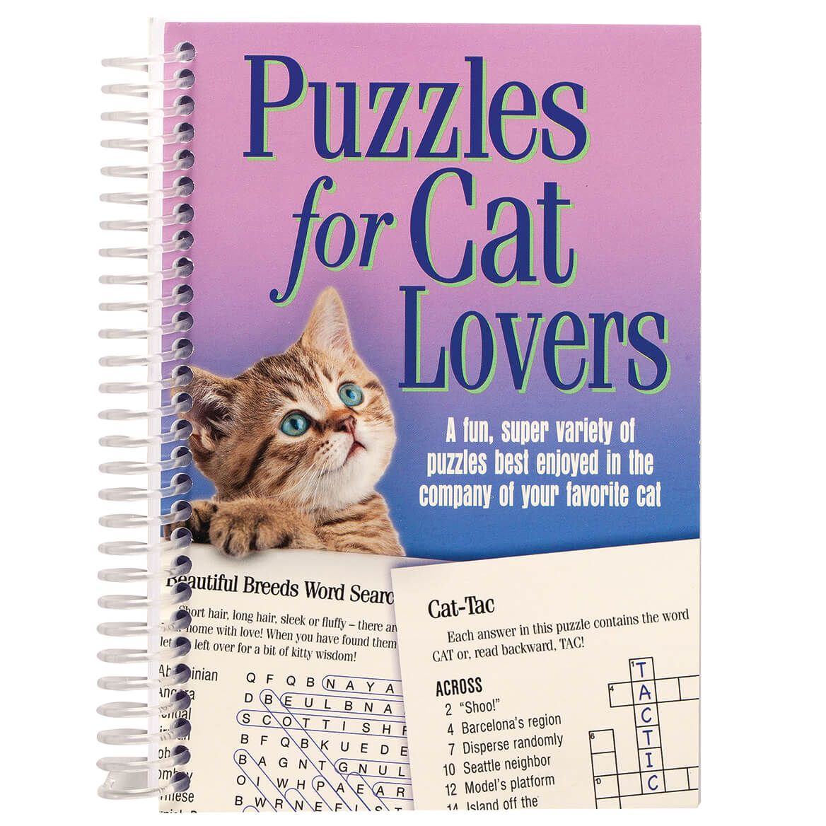 Puzzles for Cat Lovers Mini Book-370485
