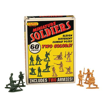 Retro Mini Soldiers, 60 pieces-370827