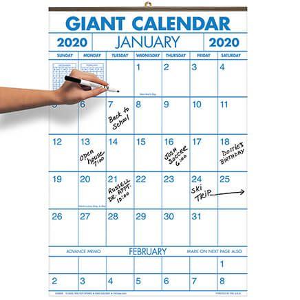 2 Year Giant Calendar 2020-2021-370841