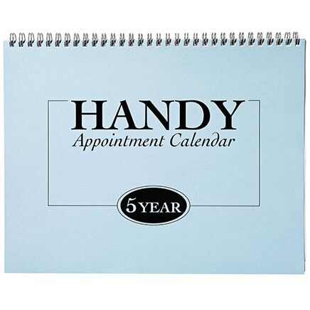 5 Year Appointment Calendar 2020-2024-370843