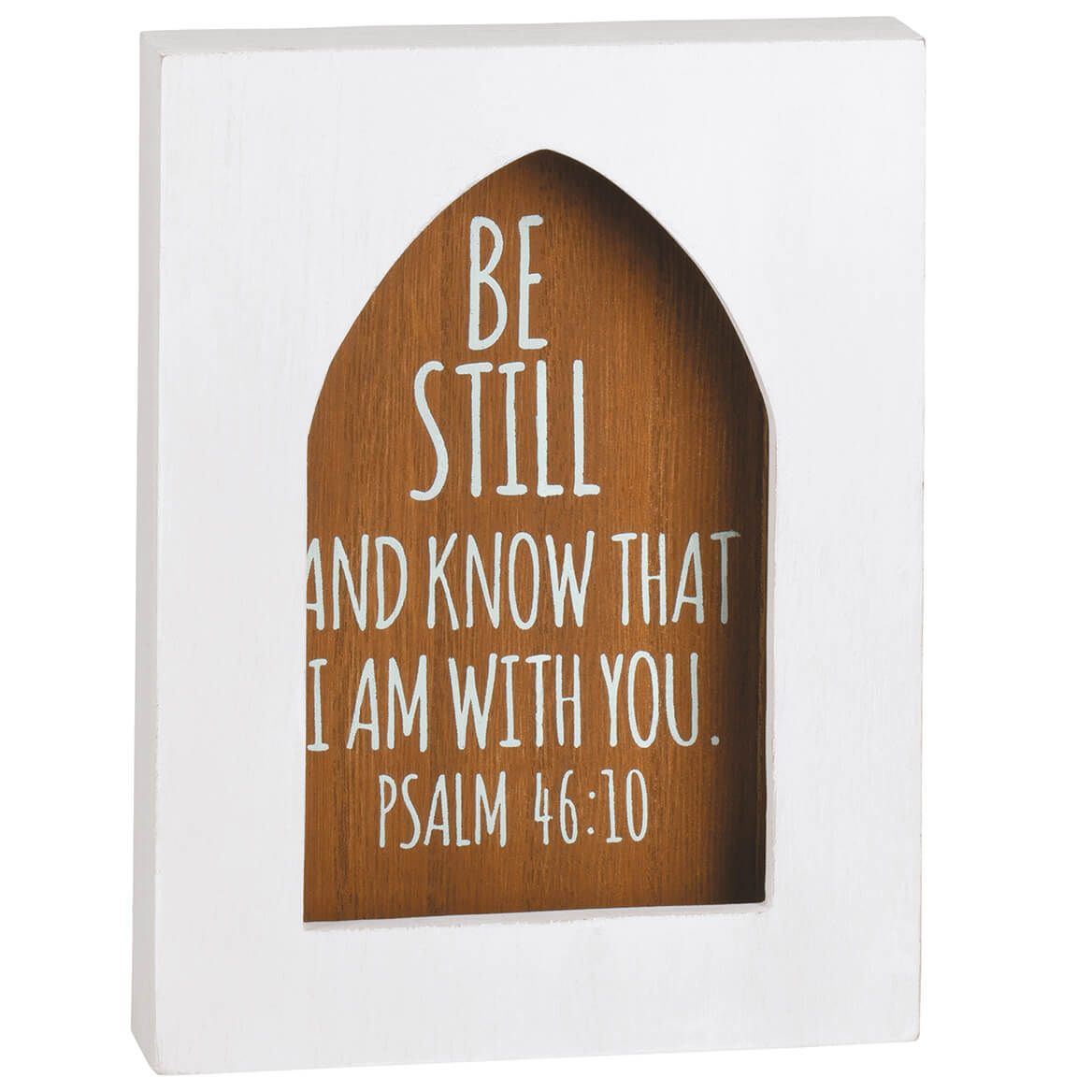 Bible Passages Wood Shadow Box-371060
