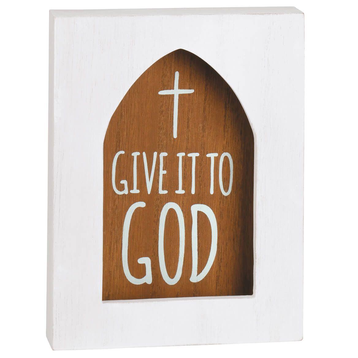 Faith Wood Shadow Box-371061