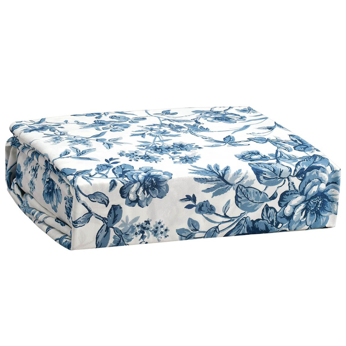 Bed Tite Microfiber Sheets Toile Blue-371236