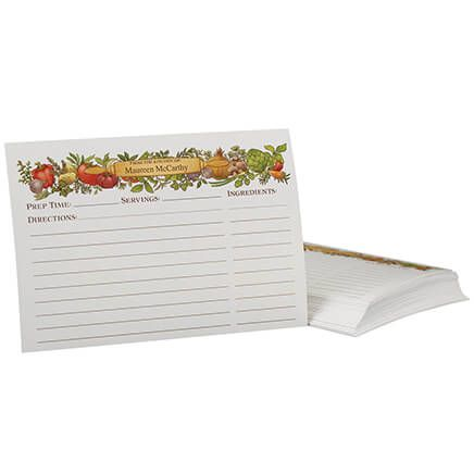 Personalized Recipe Cards-371293