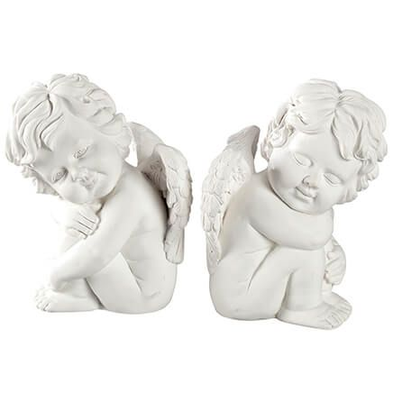 Cherub Angel Bookends Set of 2-371359