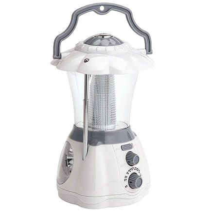 AM/FM Radio with Lantern and Flashlight-371540