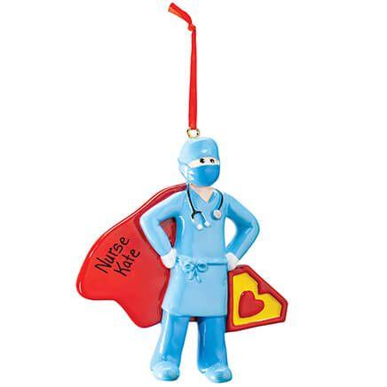 Personalized Super Nurse Ornament-371641