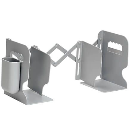 Expandable Book Stand with Pen Holder-371730