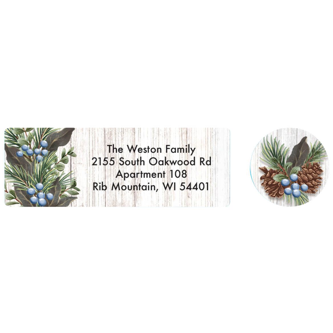 Heavenly Peace Address labels and seals-371881