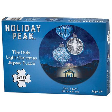 The Holy Light Christmas Jigsaw Puzzle by Holiday Peak™-371960
