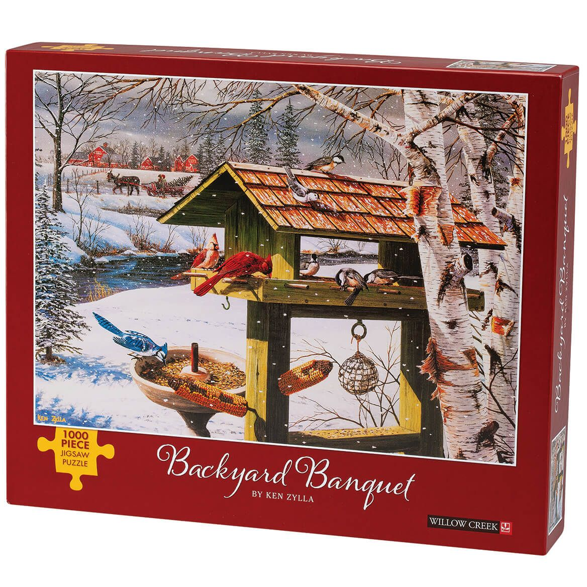 Backyard Banquet Jigsaw Puzzle, 1000 Pieces-371981