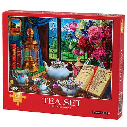 Tea Set Jigsaw Puzzle, 1000 Pieces-371982
