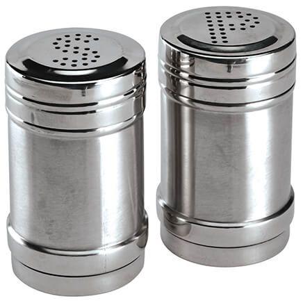Stainless Steel Salt & Pepper Shakers-372016