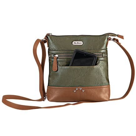 B.Amici™ Francesca RFID Lockport Crossbody Bag-372213