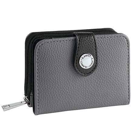 B.Amici™ Caryn RFID Zip-Around Leather Wallet-372511