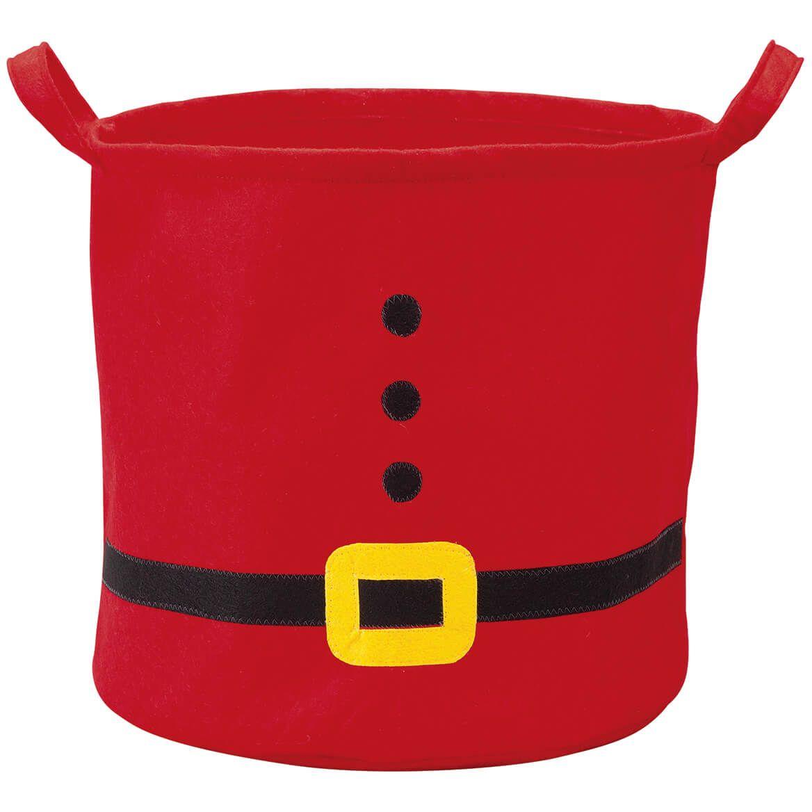 Santa Holiday Storage Bin by Holiday Peak™-372554