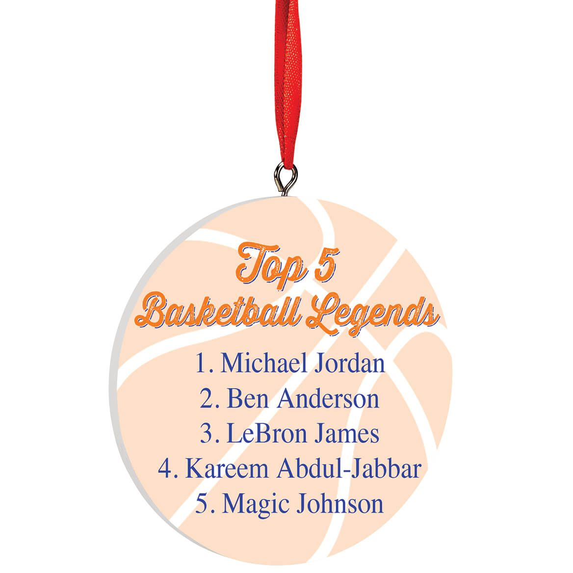 Personalized Basketball Legends Ornament-372719