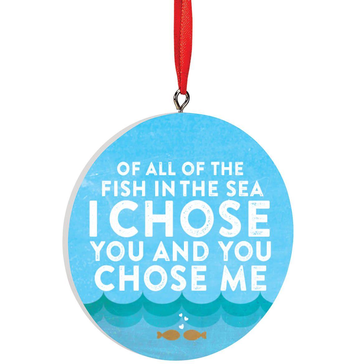 Personalized Fish in the Sea Ornament-372722